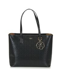 Guess Jayne Tote Women's Shopper Bag In Black