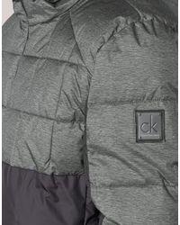 Calvin Klein Donsjas Osnowc in het Gray voor heren