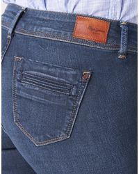 Pepe Jeans Pimlico Women's Bootcut Jeans In Blue