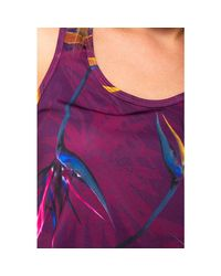 19WOTK04 Debardeur Desigual en coloris Purple