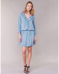 Benetton | Afidoul Women's Dress In Blue | Lyst