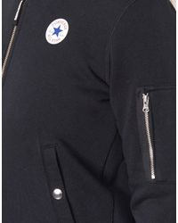 Converse Core Ma-1 Bomber Women's Jacket In Black