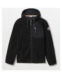 Napapijri Sweatshirt TOE FZH NP000IZM in Black für Herren