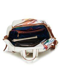Desigual Acid Ink Lima Women's Backpack In White