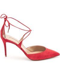 ESCARPINS FEMME Chaussures escarpins Aquazzura en coloris Red