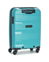 American Tourister Bon Air 55cm 4r Women's Hard Suitcase In Blue