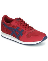 Asics Curreo Ii Men's Shoes (trainers) In Red for men