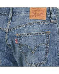 Levi's Levis 501 Ct Women's Boyfriend Jeans In Blue