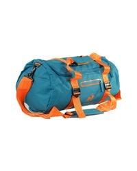 Le Coq Sportif Blue Training Glaieul Barrel Deep Lake Women's Sports Bag In Multicolour for men