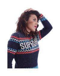 Superdry - G61023kn Jumper Women Women's Polo Shirt In Blue - Lyst