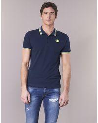 Kappa Esmalto Men's Polo Shirt In Blue for men