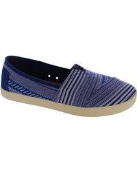 TOMS | Avalon Sneaker Women's Loafers / Casual Shoes In Blue | Lyst