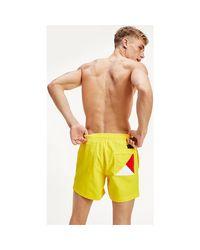 Tommy Hilfiger Um0um01080 Med.drawstring Beachwear Men Yellow for men