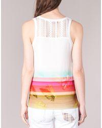 Desigual Tederi Women's Vest Top In White