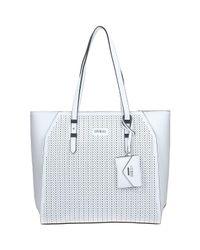 Guess Hwpf63 37230 Shopping Bag Women's Shopper Bag In White