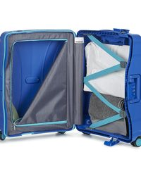 American Tourister Lock'n'roll Spinner 55cm Women's Hard Suitcase In Blue