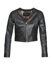 Oakwood Black Kyoto Leather Jacket