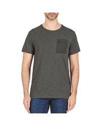 G-Star RAW - Gray Mazuren Regular Men's T Shirt In Grey for Men - Lyst