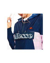 Cortavientos Troppo Zip Track Top SGC07297 femmes Veste en bleu Ellesse en coloris Blue