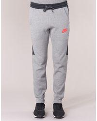 Nike Gray Air Jogger Fleece Men's Sportswear In Grey for men