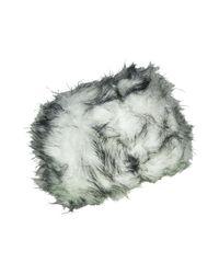 Toque En fausse fourrure ée Lucerne Chapeau Chapeau-Tendance en coloris White