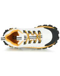 Caterpillar Lage Sneakers Intruder in het White
