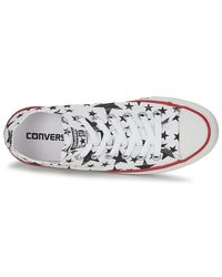 Converse Chuck Taylor All Star Multi Star Print Ox Women's Shoes (trainers) In White