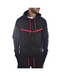 Veste Sport à Capuche U94a07 K6xf0 - Veste Guess pour homme en coloris Black