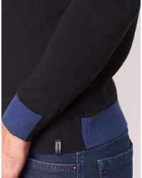 DIESEL Tru Men's Sweater In Black for men