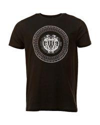T-shirt Tee Shirt Stretch Clouté Mekuta Hite Couture pour homme en coloris Black