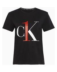 Calvin Klein Black 000qs6436e Crew Neck T Shirt
