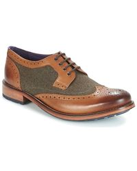 Ted Baker Cassiuss Men's Casual Shoes In Brown for men