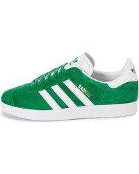 Chaussures Gazelle Verte Adidas pour homme en coloris Green