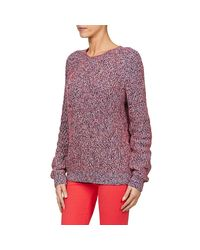 Tommy Hilfiger - Rubee Women's Sweater In Red - Lyst