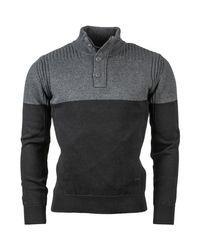 - pull hommes Pull en Noir Schott Nyc pour homme en coloris Black