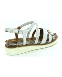 Sandales 28207 Tamaris en coloris White