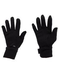Hottawa black gants hommes Gants en Noir Quiksilver pour homme