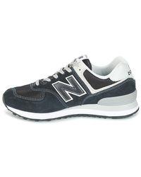 New Balance Lage Sneakers Wl574 in het Blue