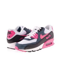 Nike - Air Max 90 Essential Women's Shoes (trainers) In Pink - Lyst
