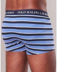 CLSSIC TRUNK-3 PACK hommes Boxers en bleu Polo Ralph Lauren pour homme en coloris Blue