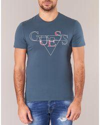 Guess Blizak Men's T Shirt In Blue for men