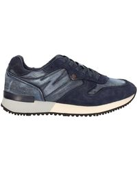 Wrangler Wm171085 Shoes With Laces Man Blue Men's Shoes (trainers) In Blue for men