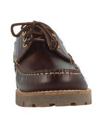 Lumberjack Manitoba Men's Boat Shoes In Brown for men