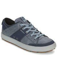 Merrell Lage Sneakers Rant Discovery Lace Canvas in het Blue voor heren