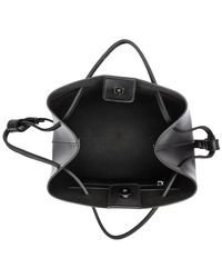 Smith & Canova Twin Strap Shoulder Strap Grab Bag Women's Shoulder Bag In Black