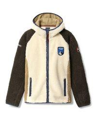 Napapijri Natural Np000ivons51 Fleece Jacket for men