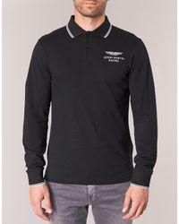Hackett - Mizat Men's Polo Shirt In Black for Men - Lyst