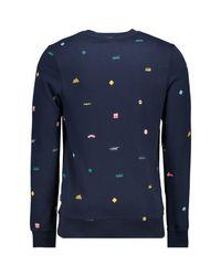 Sweat-shirt SUDADERA PARA HOMBRE Jack & Jones pour homme en coloris Blue