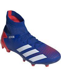 Chaussures de foot Predator 20.3 FG Adidas pour homme en coloris Blue