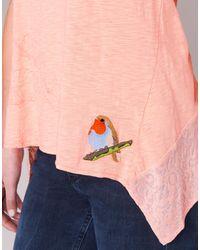 Desigual Teder Women's Vest Top In Pink